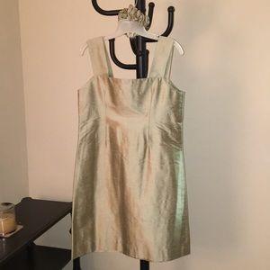 Other - Gorgeous silk dress with matching silk scrunchie